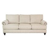 Foxhill 89 Round Arm Sofa by Edgecombe Furniture