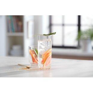 Lisbon Drinkware 16 Piece Glass Assorted Glassware Set