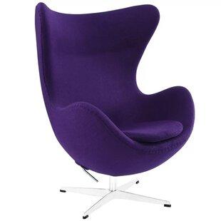 Quarterman Swivel Lounge Chair by Orren Ellis Wonderful