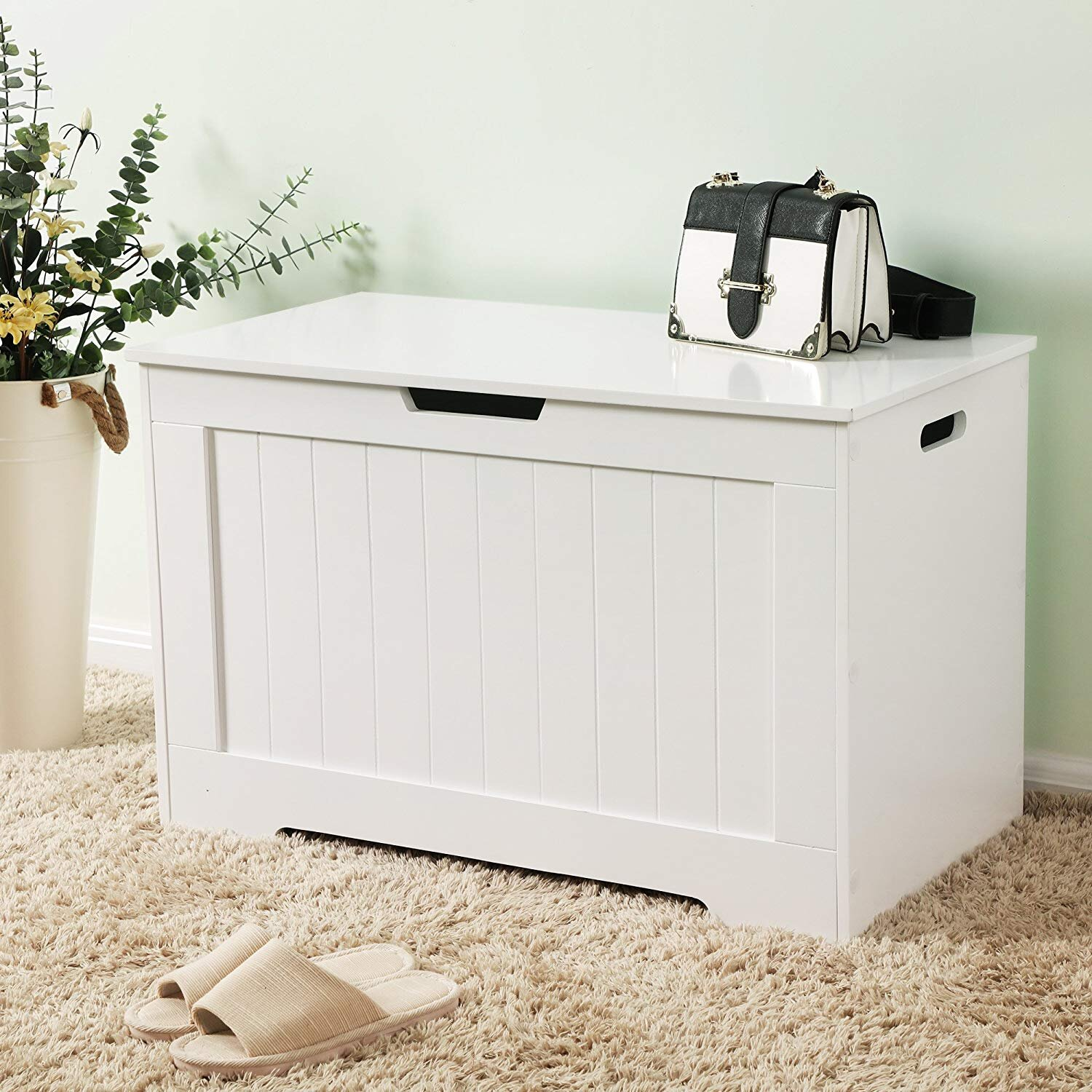 Rosecliff Heights Saira Toy Storage Bench Wayfair