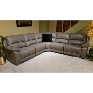 Shop Merkel Reclining Sectional by Red Barrel Studio