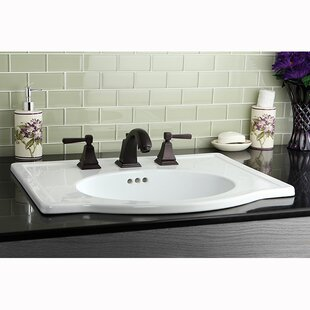 Great Price Monarch Widespread Bathroom Faucet with Pop-Up Drain ByKingston Brass