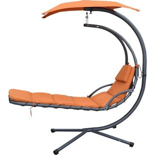 Alvin Hanging Chaise Lounger with Stand by Ebern Designs