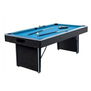 Folding Non-Slate 6.5' Pool Table