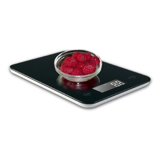 Touch Professional Digital Kitchen Scale (12 lbs Edition), Tempered Glass