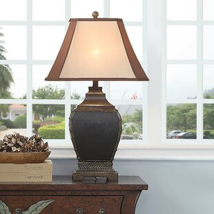 Arturo Coppery Nailhead 31 Table Lamp