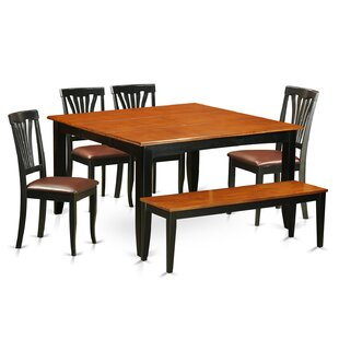 Parfait 6 Piece Dining Set by Wooden Importers Coupon