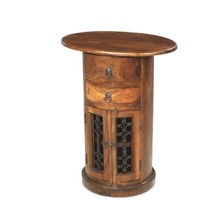Mathilda Pedestal Telephone Table By Bloomsbury Market