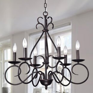 Wellyer Inc. Aura 6-Light Chandelier