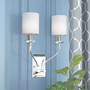 Online Reviews Redhook 2-Light Armed Sconce By Charlton Home