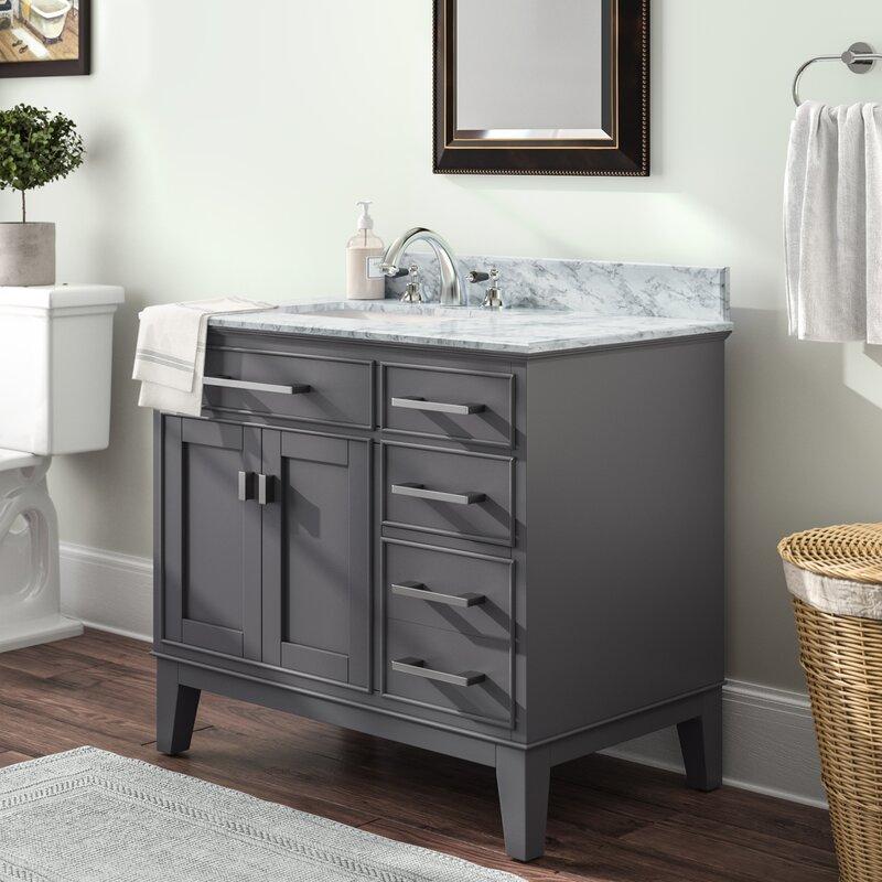 Charlton Home Arminta 36 Single Bathroom Vanity Set Reviews Wayfair