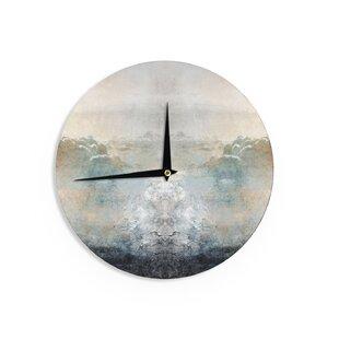 Pia 'Heaven II' 12 Wall Clock by East Urban Home