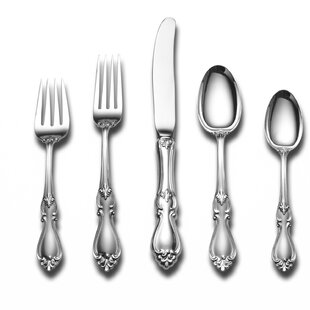 Sterling Silver Queen Elizabeth 66 Piece Flatware Set, Service for 12 By Towle Silversmiths