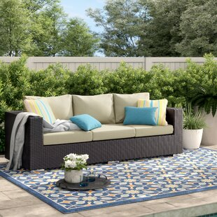 Brentwood Patio Sofa with Cushions by Sol 72 Outdoor