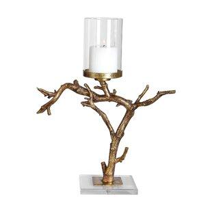 Branch Metal Candlestick