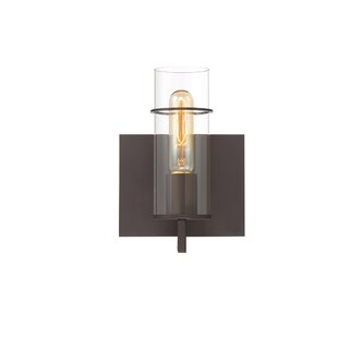 Williston Forge Hamon 1-Light Wall Bath Sconce