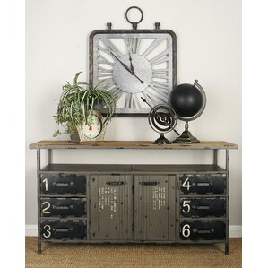 Metal and Wood Sideboard by Cole & Grey