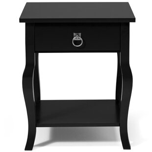 Danby End Table With Storage by Andover Mills
