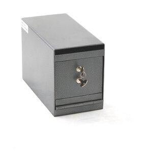 Heavy-Duty Depository Safe with Dual Key Lock by