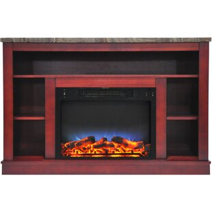 Great Price Eudora TV Stand for TVs up to 50 with Fireplace ByCharlton Home