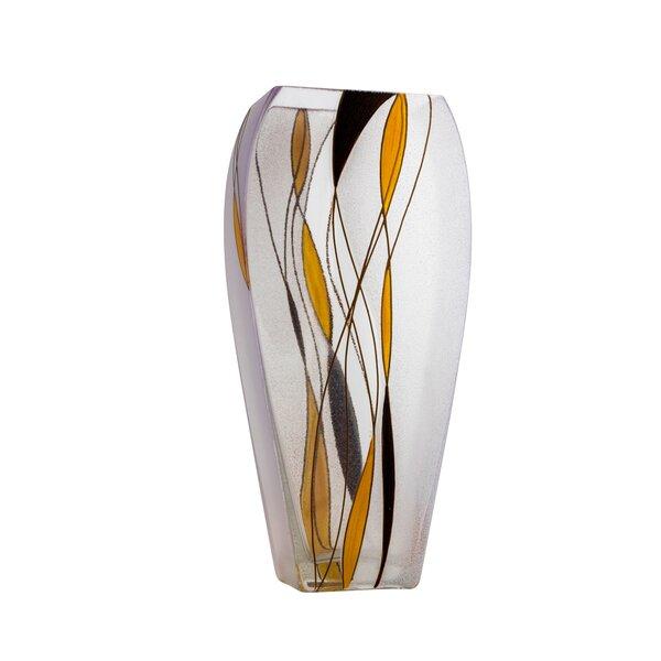 Latitude Run Macide Clear 12 4 Indoor Outdoor Glass Table Vase Wayfair