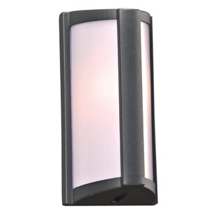 Best Price Lydd 1-Light Outdoor Flush Mount By Ebern Designs