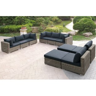 10 Piece Sectional Set With Cushions by JB Patio Find