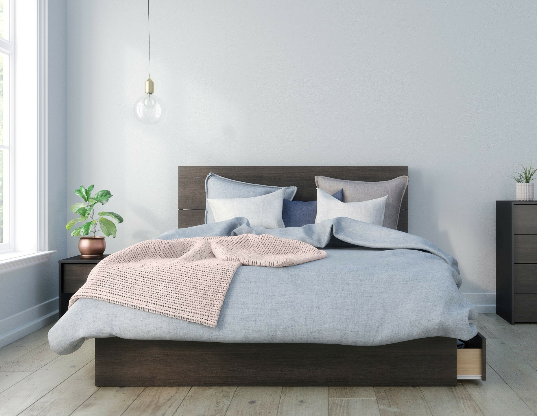Bourquin Platform Bedroom Set