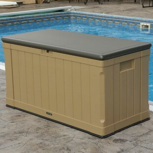 Marvelous Outdoor Storage 116 Gallon Plastic Deck Box