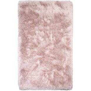 Somerville Hand Tufted Pink Rose Area Rug