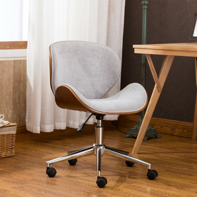 George Oliver Bridport Adjustable Office Low-Back Drafting Chair ...