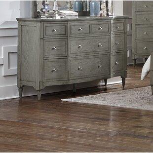 One Allium Way Langdon-Gray 9 Drawer Dresser