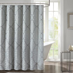 brown and gray shower curtain. Colden Shower Curtain  Silver Gray Curtains You ll Love Wayfair