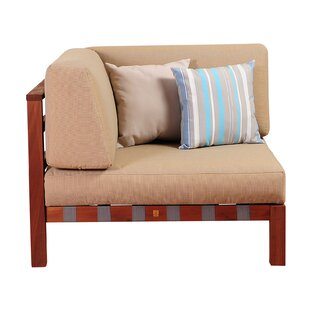 Beachcrest Home Elsmere Corner Chair with..