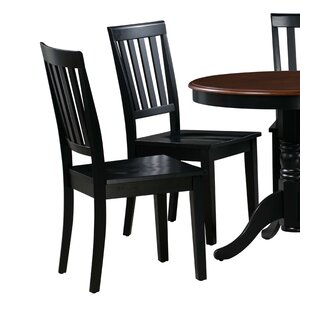Chicago Solid Wood Dining Chair (Set of 2..