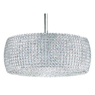 Schonbek Dionyx 3-Light Crystal Chandelier