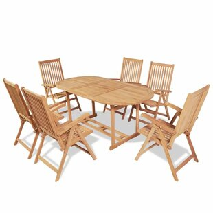 Coker 6 Seater Dining Set By Sol 72 Outdoor