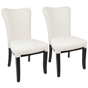 Neville Side Upholstered Dining Chair (Set of 2) Mercer41