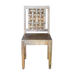 Savings Luz Solid Wood Dining Chair by Millwood Pines Reviews (2019) & Buyer's Guide