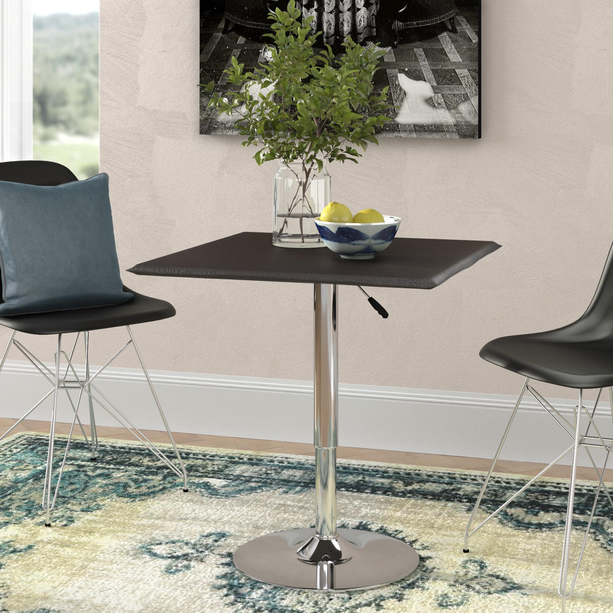 Latitude run seagraves adjustable height dining table reviews wayfair