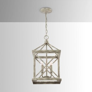 Dellwood 4-Light Square/Rectangle Pendant by House of Hampton