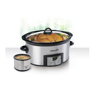 6 Qt. Countdown Digital Slow Cooker with Little Dipper® Warmer