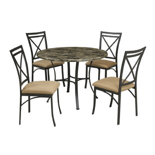 Lincoln 5 Piece Dining Set