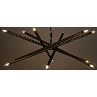 Noir Ikram 10-Light Chandelier