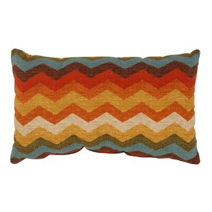 Panama Wave Cotton Lumbar Pillow