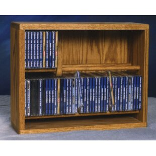 Look for 200 Series 80 CD Multimedia Storage Rack ByWood Shed