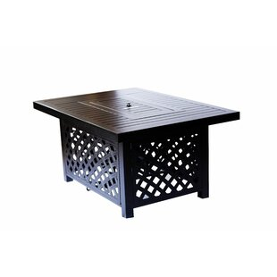 Minnetonka Aluminum Propane Fire Pit Table