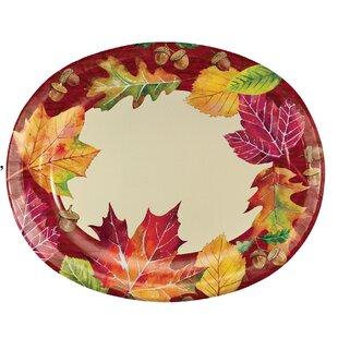 Tova Leaves Paper Dinner Plate (Set of 24)