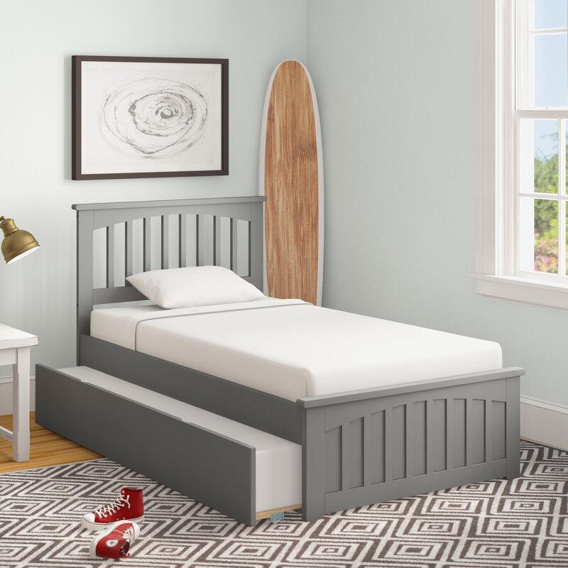 Three Posts™ Baby & Kids Caulksville Twin Platform Bed with