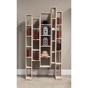 Great Wall Geometric Bookcase by Sarreid Ltd Savings